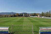 V areálu Akademie FC Slovan Liberec na Letce proběhla dezinfekce na náklady Fotbalové asociace.