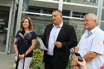 Věra Nechybová, Martin Klika a Jaroslav Veselý kandidují do podzimních voleb za Lepší Sever.