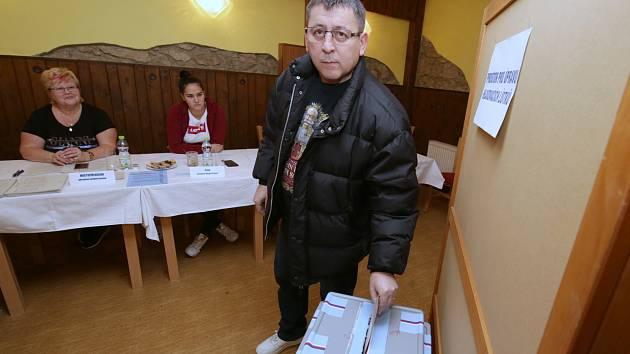 Komunální volby v Chuderově na Ústecku