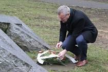 Uctění památky obětí holokaustu v Ústí nad Labem