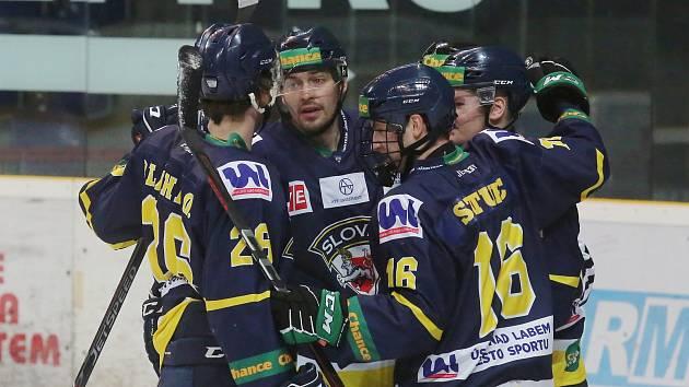Hokejisté HC Slovan Ústí nad Labem ilustrační
