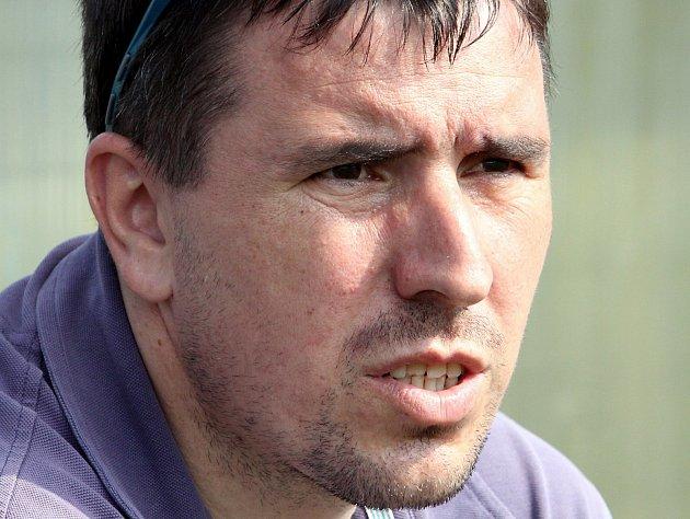 Trenér fotbalistů Střekova Petr Čítek.