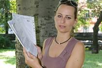 Katarína Zemčáková, provozovatelka domova pro ohrožené děti v Tisé.