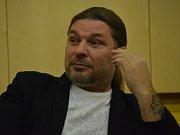 Petr Kolář v hotelu Clarion.