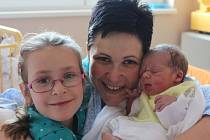 Jiří Pech se narodil v ústecké porodnici 24.3.2016 (10.17) mamince Lence Floriánové. Měřil  50 cm, vážil 2,87 kg.