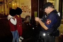 Dívky uvízlé v Ústí kontaktovali strážníci