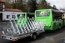 V pátek 2. dubna zahájí provoz cyklobusové linky číslo 20 a 21.