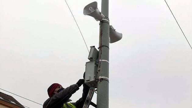 Varovný systém v Ústí nad Labem se rozšíří a bude digitální.