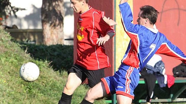 Devět branek padlo v utkání rezervních týmů Skorotic a Přestanova a po výhře 5:4 se domácí dočkali první výhry.