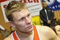 Finále Grand Prix Ústí nad Labem, boxer Zdeněk Chládek.