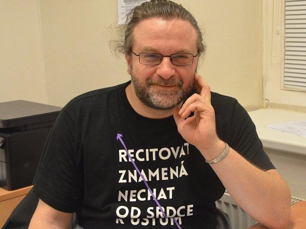 Jiří Trnka, ředitel Činoheráku i Městského divadla Děčín.