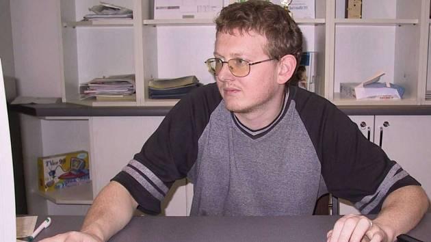 Specialista na počítačovou techniku Pavel Grunzner.