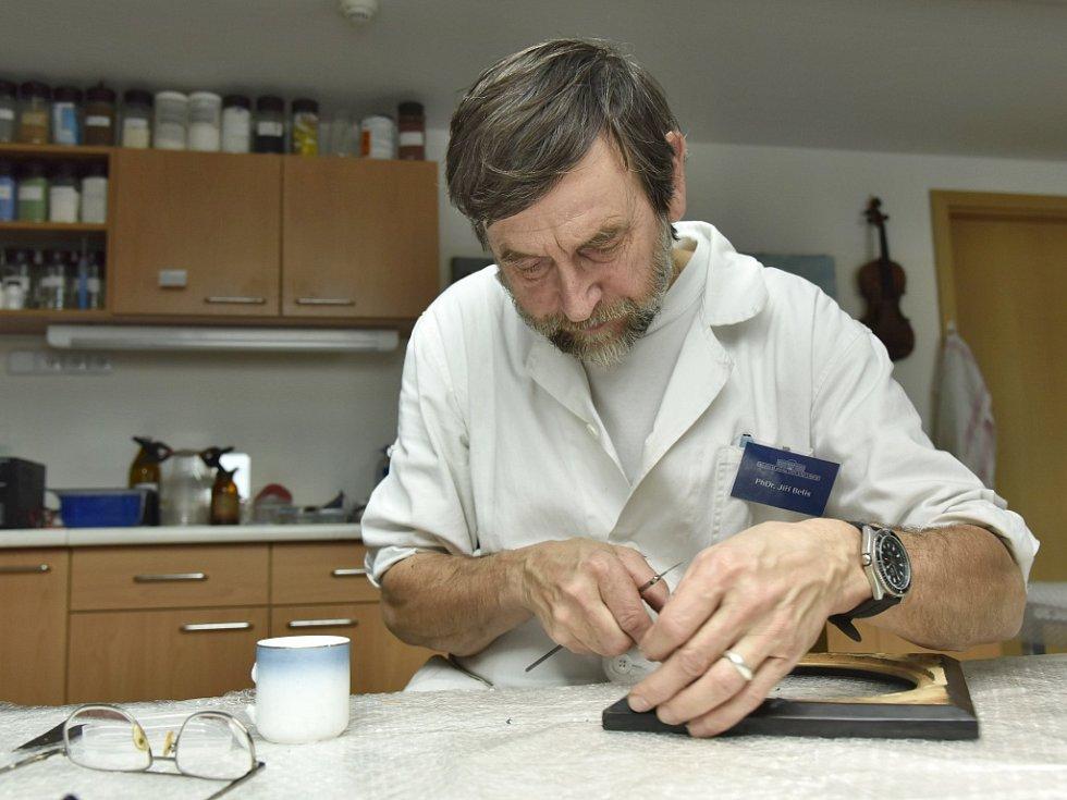Konzervátoři a restaurátoři ústeckého muzea: Jiří Belis