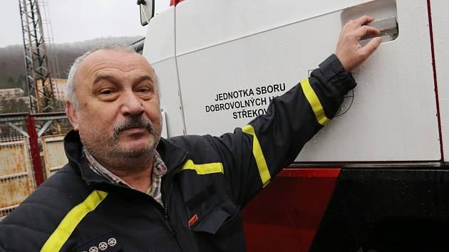 Jednotka dobrovolných hasičů na ústeckém Střekově