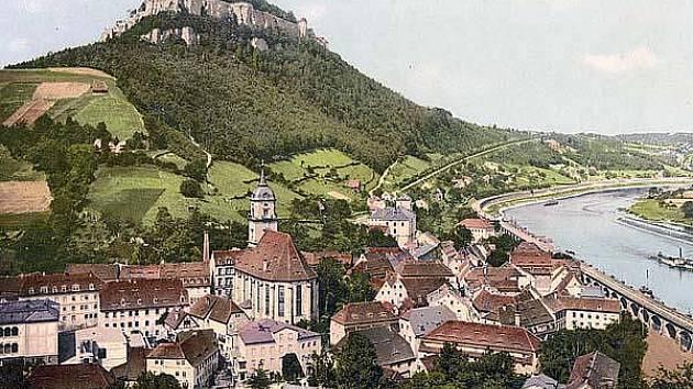 Königstein je známý nejen u nás v Evropě, ale i po celém světě.
