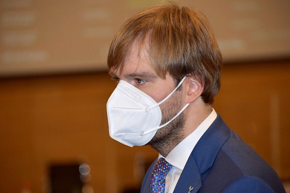 Předseda představenstva Krajské zdravotní Adam Vojtěch