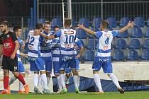 Fotbalový zápas mezi Armou Ústí a Táborskem