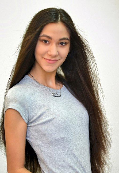 10. Vanesa Hrabalová, 15 let, Ústí nad Labem