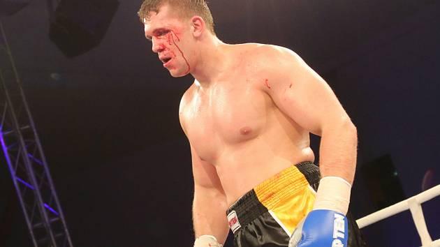 Ústecký boxer Tomáš Šálek.