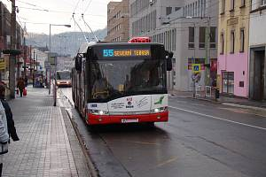 MHD v Ústí nad Labem, ilustrační foto.