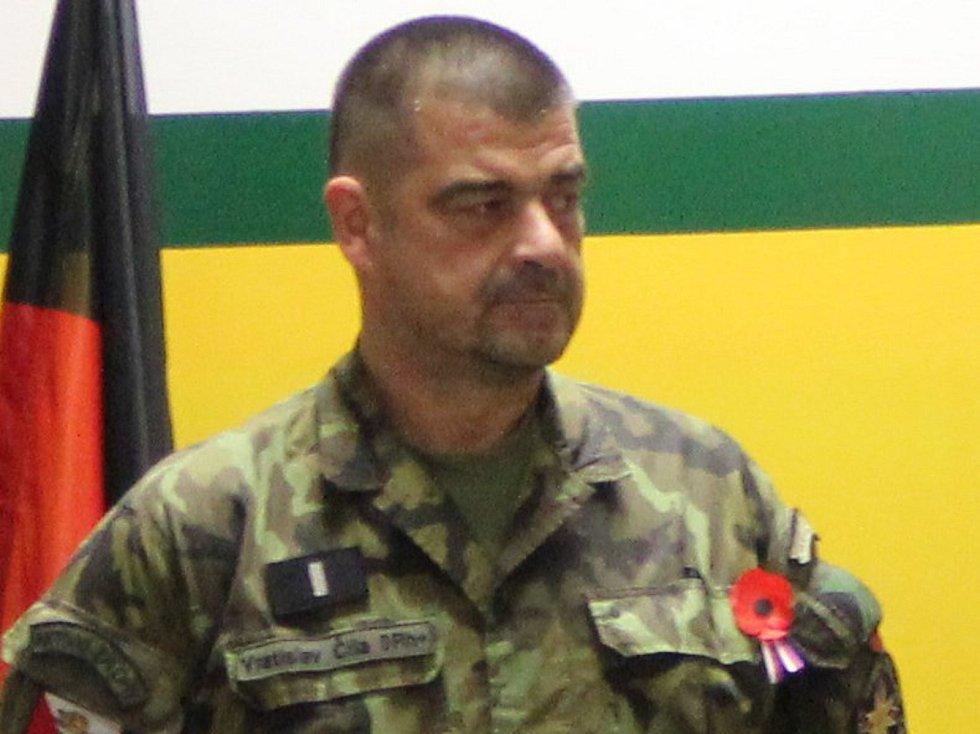 Ze soutěže záložních vojáků HVĚZDA 2017 v Tisé.