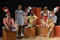 K oblíbeným hrám dětí z Bullerbynu patřila také hra na americký západ.