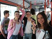 Na Mezinárodní den dětí rozdal Dopravní podnik města Ústí nad Labem 300 Fidorek.