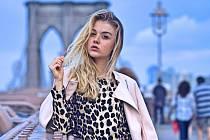 Maturantka a modelka Markéta Marečková z Ústí nad Labem, studentka Gymnázia Jateční