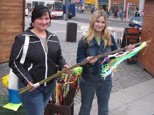 Radka Franková a Alena Kratochvílová navštívily Velikonoční trhy
