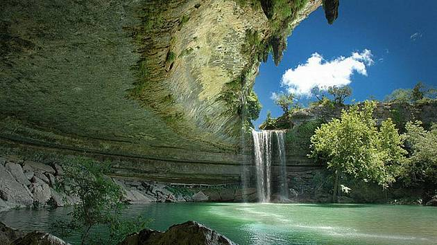 Hamilton Pool, Texas / USA