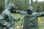 Vojáci nacvičovali jadernou havárii.