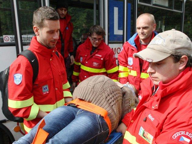 Záchranáře čekala sada úkolů.
