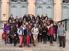Žáci ZŠ Stříbrnická byli poprvé v zahraničí s projektem Erasmus+.