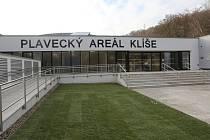 Plavecký areál Klíše.