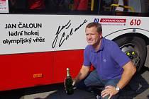 Olympijský vítěz Jan Čaloun.