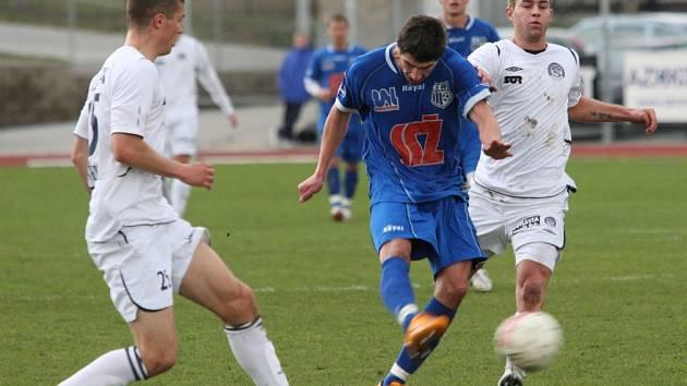 Ústečtí fotbalisté po deváté v řadě neprohráli. Slovácko v neděli porazili 4:0.