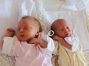 Lucie a Karolína Kratochvílovy se narodily v ústecké porodnici 2.9.2016 (16.44 a 16.45) Lucii Kratochvílové. Měřily 46  cm, vážily 1,97 a 1,81 kg.