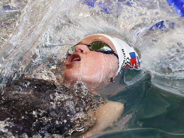 V Ústí nad Labem proběhla od pátku do neděle Velká cena Ústí nad Labem v plavání. Soutěžila i reprezentantka v plavání z Chomutova Simona Baumrtová.