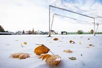 Podobně to v týdnu vypadalo na fotbalových hřištích v celém Ústeckém kraji.