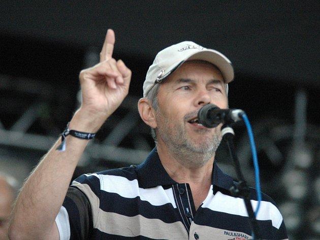 Marek Eben na Open Air Festivalu 2013.