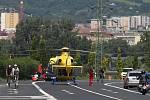 Letecká záchranná služba DSA v akci.