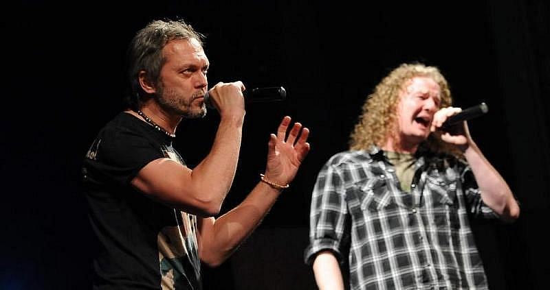 Na koncertě zněly hity z rockových oper Antigona a Tyranus Oidipus