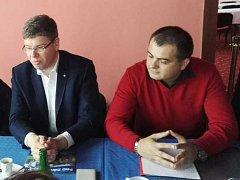 Kandidátem na primátora Ústí bude podnikatel Martin Fišer (vpravo).