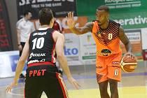 Basketbalové utkání Ústí nad Labem a Svitavy.