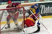 Ústečtí hokejisté se po dvou porážkách v řadě konečně dočkali vítězství. V domácím prostředí smetli jihlavskou Duklu 7:3.