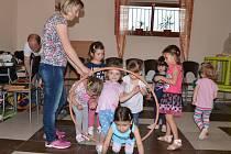 První Dětský den se opět konal v cukrárně U Jenčů v Doběticích.
