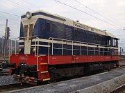 Lokomotivy a hnací vozidla mají svá jména - Velkej Hektor.