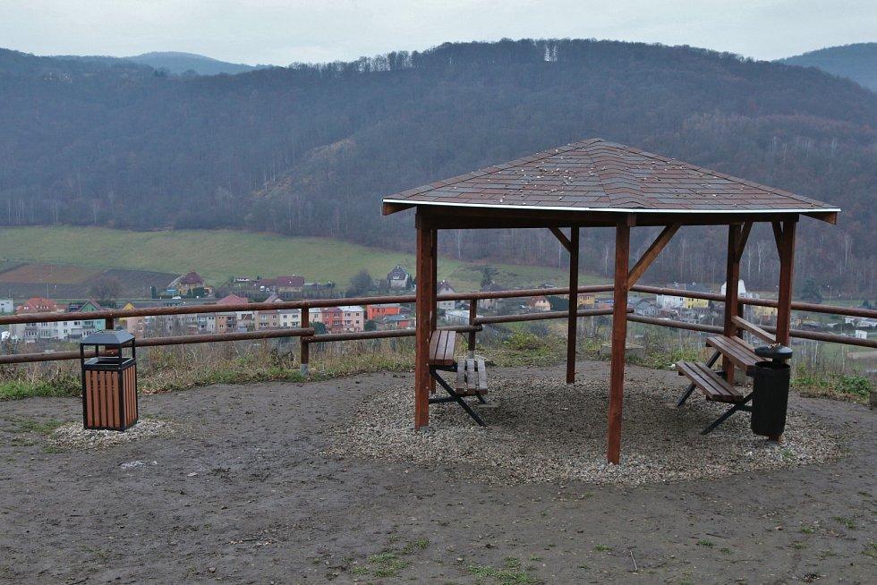 Nová vyhlídka nese jméno turisty Františka Málka.