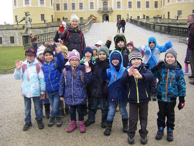 Výlet na zámek Moritzburg.
