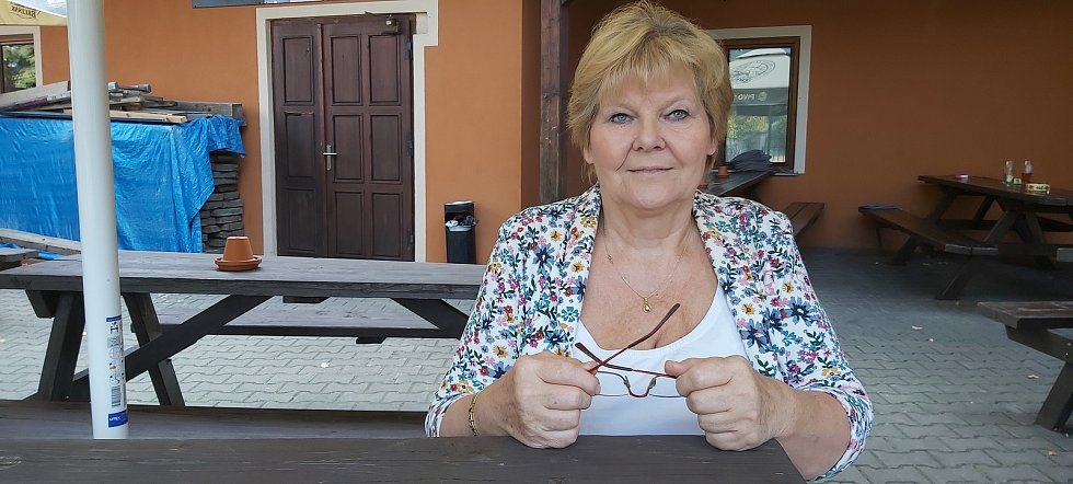 Předsedkyně osadního výboru ve Svádově Irena Růžičková